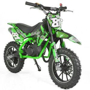 MOTO Mini moto cross enfant 50 XTRM Verte
