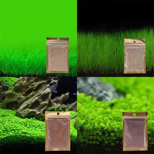 GRAINE - SEMENCE 4 Types Aquarium Graines Eau Herbe Plantes Aquatiq