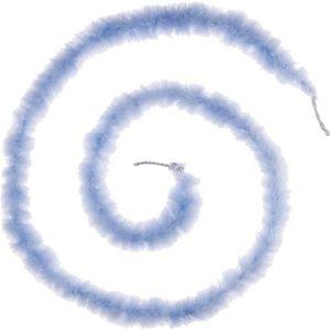 GUIRLANDE DE NOËL Guirlande de Noël Boa Plume - 1,60 m - Bleu ciel e7939814bd4
