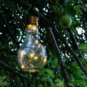 LAMPE DE JARDIN  GALIX Lampe de table solaire - Ampoule 2 en 1