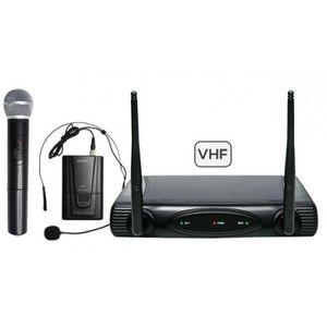 MICROPHONE - ACCESSOIRE Double microphone vhf sans fil KARMA SET 6082PL