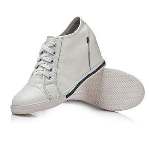 SABOT femmes en cuir véritable hauteur croissante Shoes