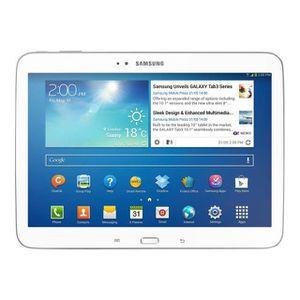 TABLETTE TACTILE Samsung Galaxy Tab 3 10.1 (Wi-fi, 16 Go, Blanc)
