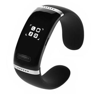MONTRE CONNECTÉE Bluetooth 3.0 poignet Montre-bracelet capteur de b