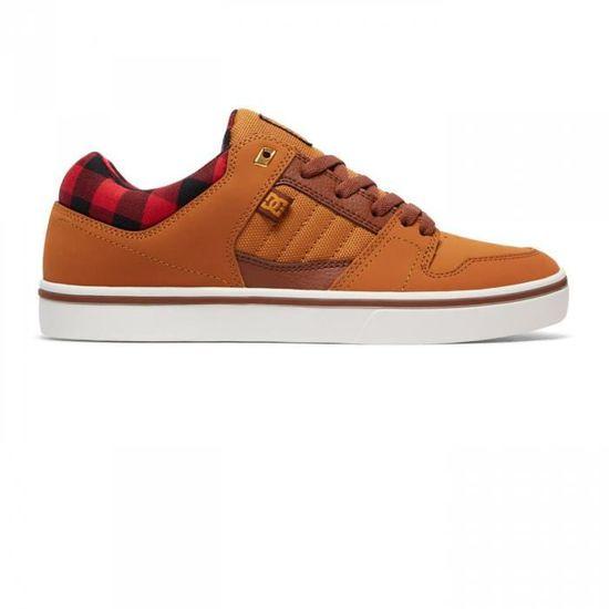 Chaussures Course 2 Wheat h17 - DC Shoes Beige Beige - Achat / Vente basket