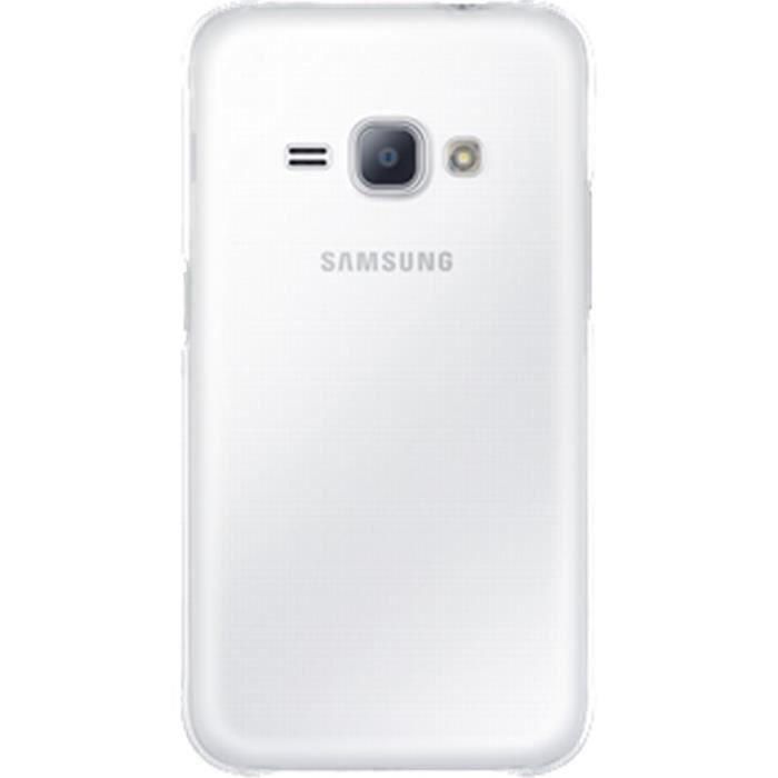 SAMSUNG Coque rigide EF-AJ120CT - Pour Samsung Galaxy J1 J120 2016 - Transparente