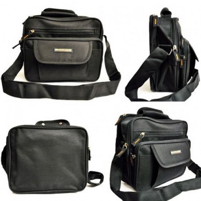 SAC BESACE MULTIPOCHES - NYLON HOMME FEMME