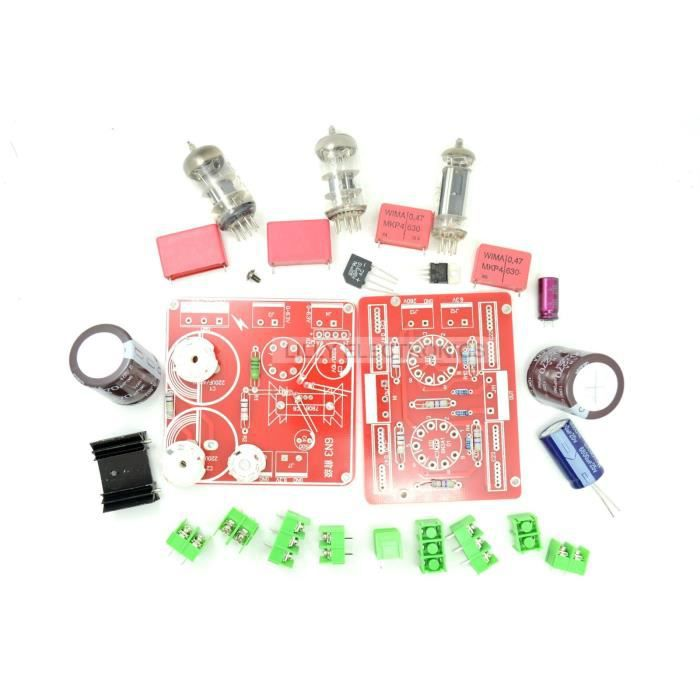 6N3 SRPP Tampon DIY kit préamplificateur pré AMP double 180V-230V
