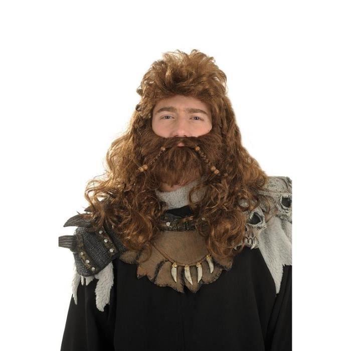 Perruque et Barbe Viking - Achat / Vente