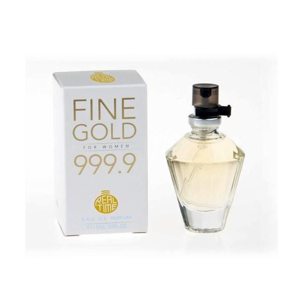 Real 9 Time Fine De Achat Pour Parfum 15ml Femme Eau Gold 999 uJT1clFK35