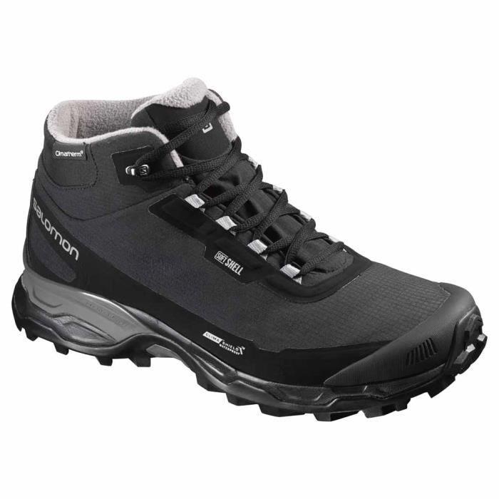 Chaussures homme Chaussures après-ski Salomon Shelter Spikes Cs Wp - Prix pas cher - Cdiscount