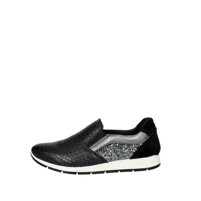 Imac Sneakers Femme Noir, 38