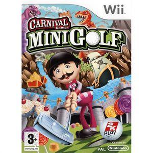 JEUX WII CARNIVAL MINI GOLF / JEU CONSOLE Wii