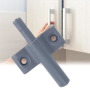 BLOQUE PORTE - POIGNÉE 10pcs placard armoire tiroir serrure porte loquet