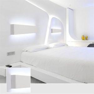 Lampe Chambre Simple Moderne Lampe Murale En Aluminium LED Salon De ...