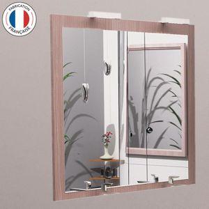 Miroir de salle de bain 120 cm achat vente miroir de for Applique miroir salle de bain 60 cm