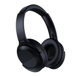 CASQUE - ÉCOUTEURS Casque Bluetooth à Réduction de Bruit Active Écout