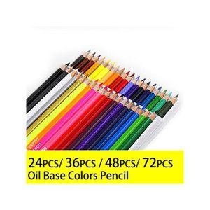 CRAYON DE COULEUR Set Crayon Dessin 48 Couleurs
