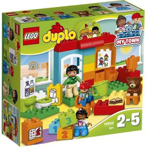 ASSEMBLAGE CONSTRUCTION LEGO® DUPLO® 10833 Le Jardin d'Enfants