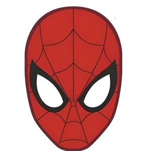 COUSSIN SPIDERMAN Coussin rouge 36x36cm