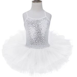 83557808d14549 Justaucorps danse couleur blanc avec la jupe - Achat / Vente pas cher