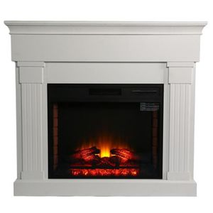 CHEMINÉE 1350W cheminée électrique décorative à flamme 3D e