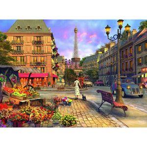 PUZZLE Puzzle 500 pièces Promenade à Paris