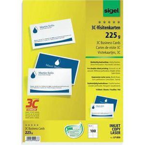 PAPIER IMPRIMANTE Cartes De Visite 3C LP850
