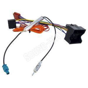CÂBLE TV - VIDÉO - SON connecteur ISO OPEL SIGNUM / TIGRA / VECTRA - cabl