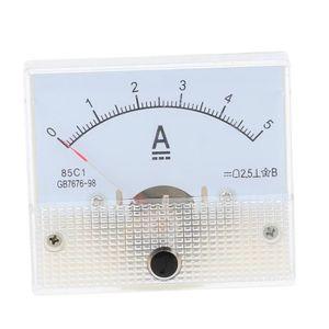 MULTIMÈTRE DC0-5A Indicateur de mesure de panneau analogique