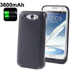 Batterie téléphone Batterie coque Samsung Galaxy Note 2 chargeur 3…
