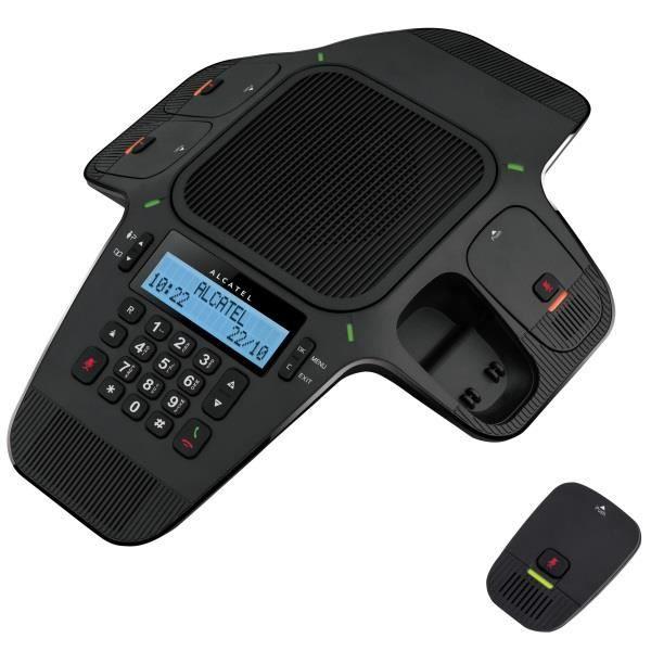 ATLINKS ALCATEL CONFERENCE IP1850 SIP 4 MICROPHONES DETACHABLES BLK IN