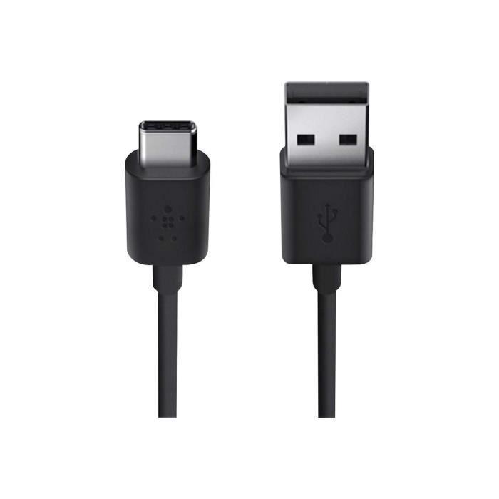 BELKIN MIXIT Câble USB-A/USB-C NOIR