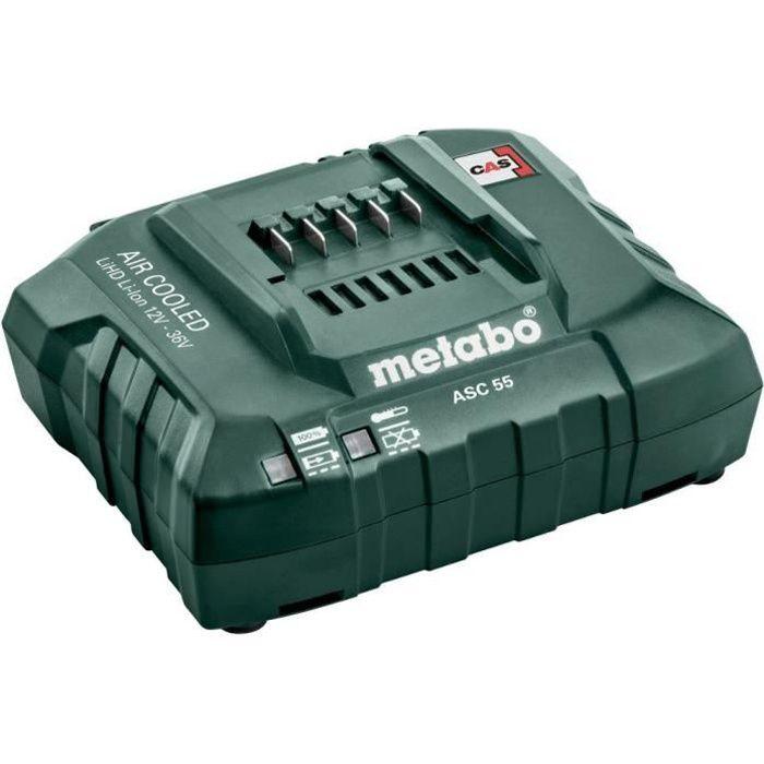 METABO Chargeur de batterie ultra rapide ASC 30-36 V - 14,4V