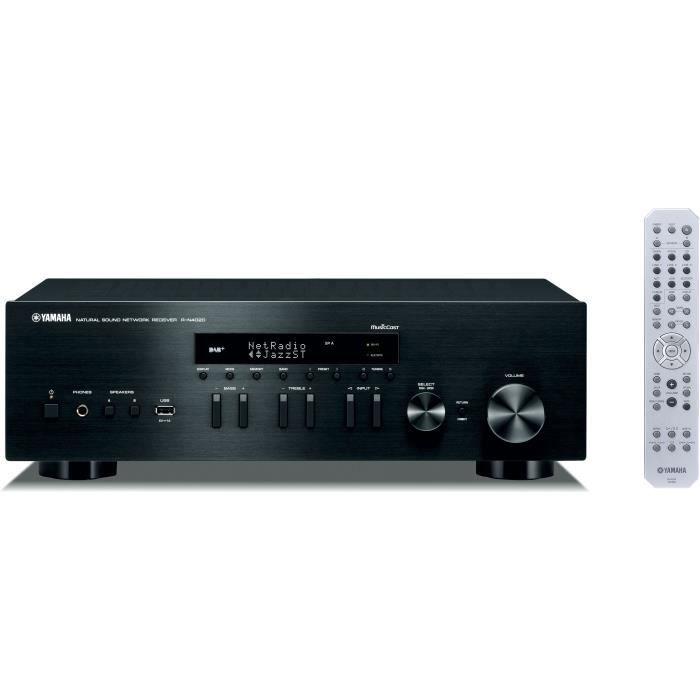 YAMAHA R-N402D Amplificateur Hifi Connecté - Noir