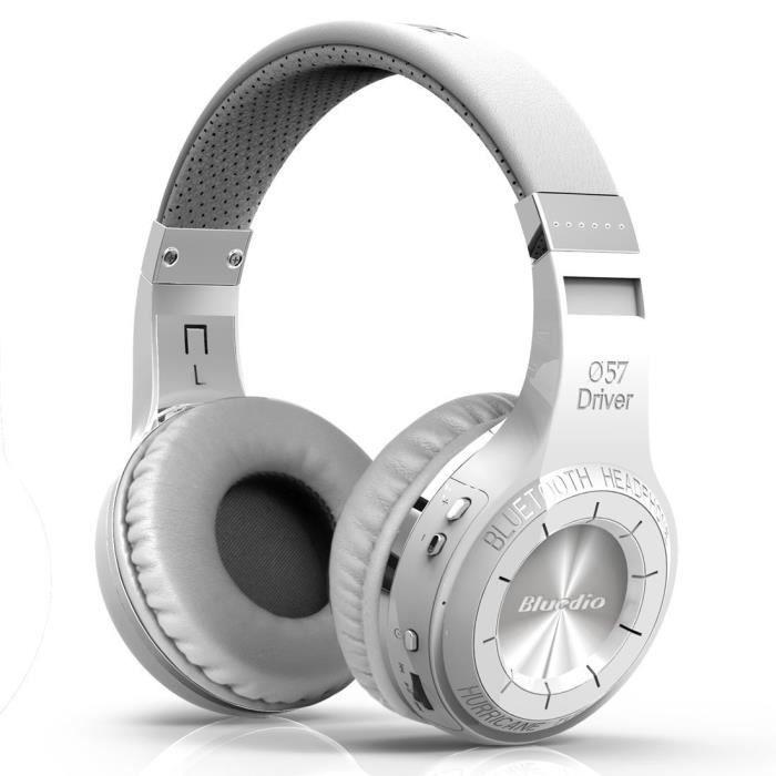 Bluedio Ht (shooting Brake) Sans Fil Bluetooth 4.1 Stéréo Casque (blanc)