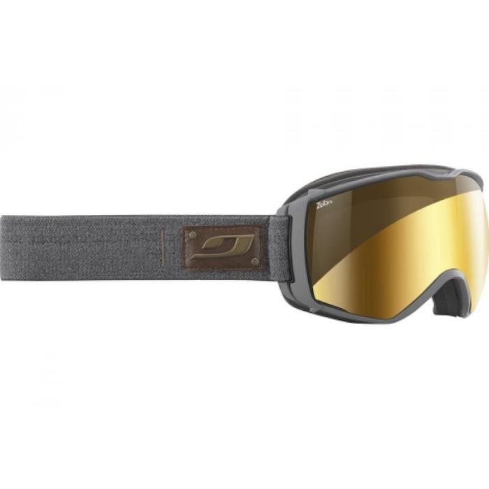 4d7a04da80864d Masque de ski mixte JULBO Gris AEROSPACE Gris - Zebra - Prix pas ...