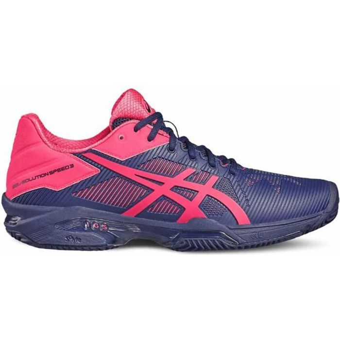 Prix Tennis Pas 3 Speed Solution Chaussures Gel Asics Clay Femme UwF8qF