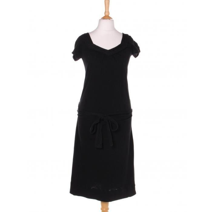 Robe courte COMPTOIR DES COTONNIERS 36 Noir