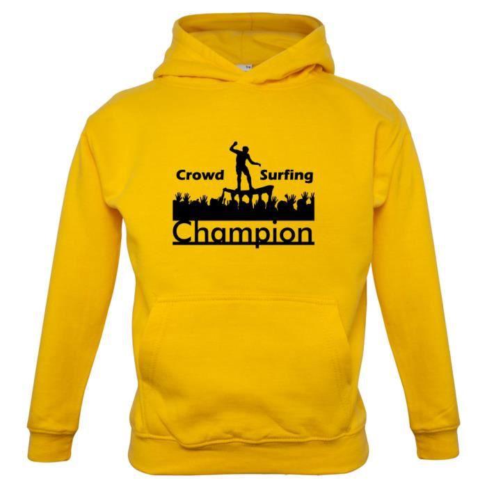 697c31d1e0ade ... Sweat-Shirt Capuche Enfant colore jaune; Champion; Dressdown; Champion  en ligne   Nouvelle collection sur Zalando; Dressdown; Vêtements ...