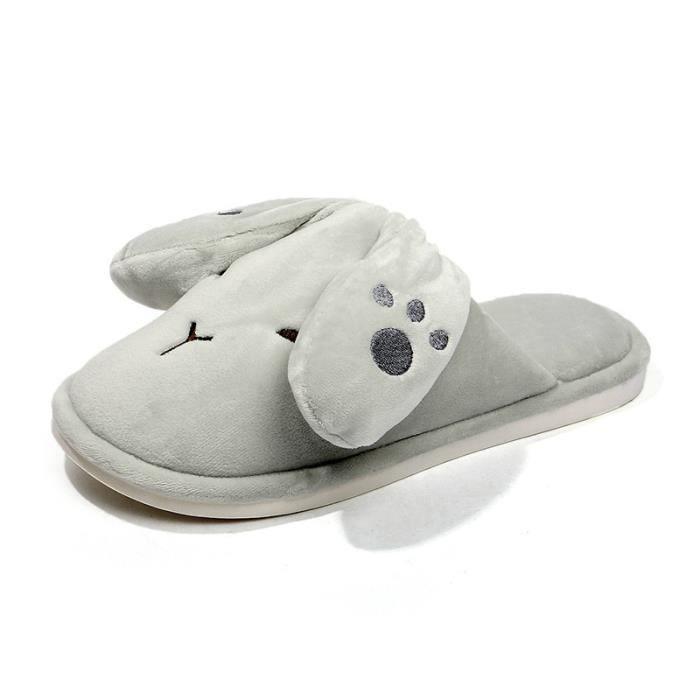 Pantoufles mode Pantoufles aimables Pantoufles couples Chaussures légères Chaussures cobfortables Chaussures chaudement Chaussures 3hfXudoj3S