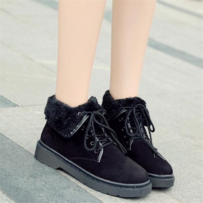 Bottes Femme léger version Antidérapant Bottine Confortable Nouvelle tendance Chaussure Qualité Supérieure Plus Taille 35-40 cm7EOYe