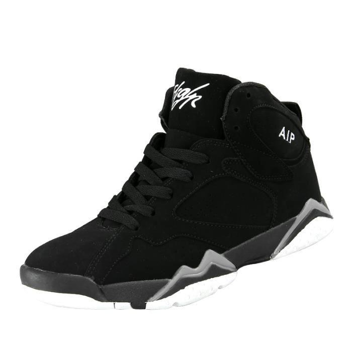 Baskets Homme Chaussure été et hiver Jogging Sport léger Respirant Chaussures BLLT-XZ224Noir36 3L6zB9R