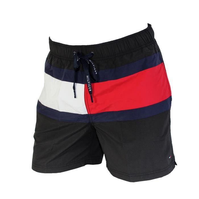 Tommy Hilfiger Shorty de maillot de bain Core Flag Stripe Rouge Tommy Hilfiger Le Plus Récent Prix Pas Cher PY7zJG6kWa