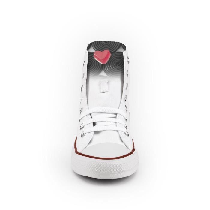 Converse All Star Personnalisé et imprimés - chaussures à la main - Liquirice
