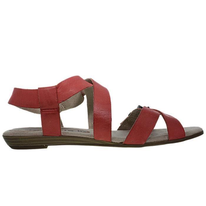 pieds Nus chaussures 28164 Tamaris femme corail vgdga1qwx