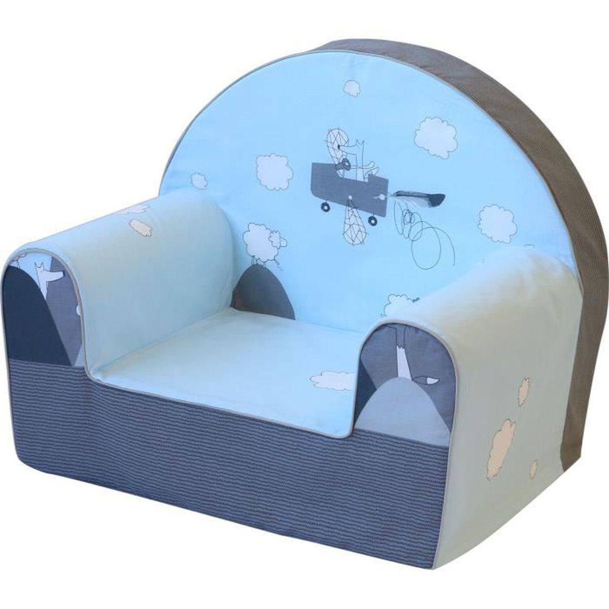Fauteuil Pour Bébé bubaba - fauteuil pour enfant, 12 designs différents, mousse