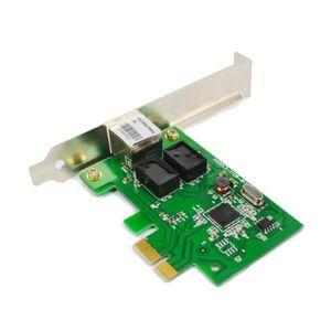 CARTE RÉSEAU  1000 Mbps Gigabit Ethernet Pci Express Pci-E Carte