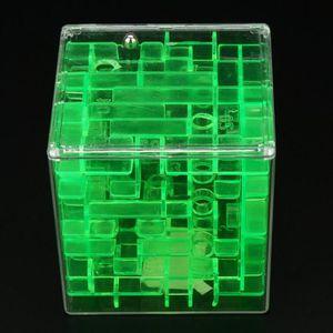 JEU D'APPRENTISSAGE 3D Cube Puzzle Labyrinthe Jouet Main Boîte de Jeu
