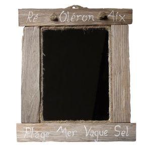 miroir bois flotte achat vente pas cher. Black Bedroom Furniture Sets. Home Design Ideas
